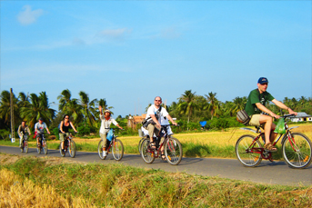 BIKING 03DAYS 02NIGHTS SAIGON - VINH LONG - CAN THO - MEKONG DELTA