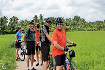 BIKING 04 DAYS 03 NIGHTS : SAIGON - VINH LONG - TRA VINH - CAN THO - MEKONG DELTA