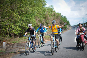 BIKING 03 DAYS 02 NIGHTS  SAIGON - BINH CHAU -  VUNG TAU BEACH