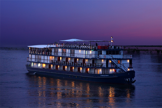 MV JAYAVARMAN CRUISE  - DEEP IN THE DELTA ( SAIGON - CHAU DOC ) 02 NIGHTS