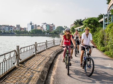 WHERE TO GO IN A HANOI CYCLING TOUR